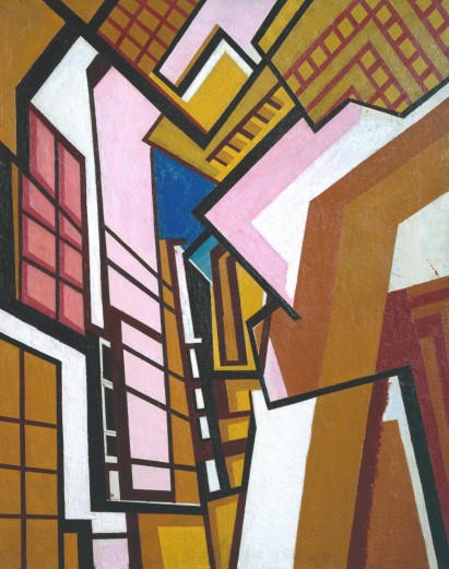 Workshop c.1914-5 Wyndham Lewis 1882-1957 Purchased 1974 http://www.tate.org.uk/art/work/T01931